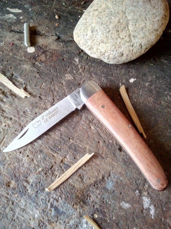 Couteau l'Alsacien Manche Bubinga